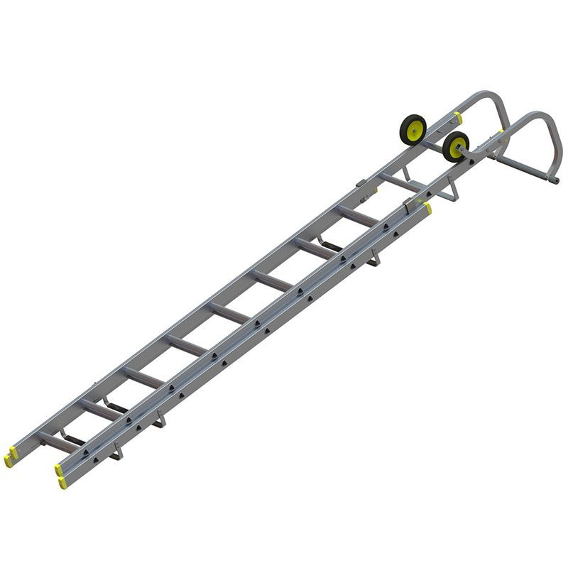 Youngman 576630 2 Section Roofing Ladders 32m